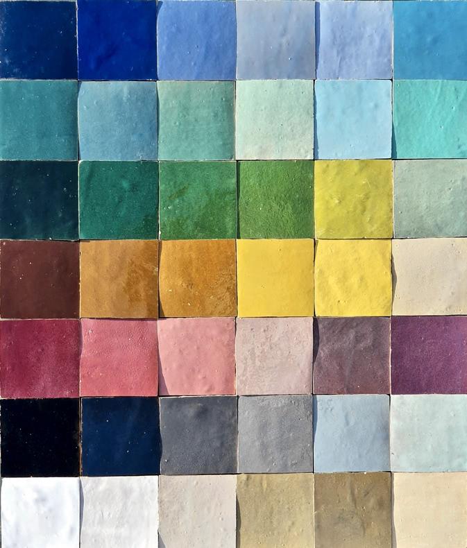 Zellige Colour Range.